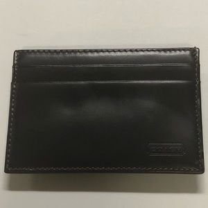 Coach men's credit card / cash holder